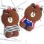 เคสมือถือ Vivo Y66 เคสซิลิโคนหมี3D (พรีออเดอร์) thumbnail 3