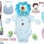 ชุดของขวัญเสื้อผ้า 5 ชิ้น(เด็กแรกเกิด 0-6 เดือน) TomTom joyful thumbnail 2