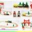 ชุดรางรถไฟไม้ 37 ชิ้น Acool toy thumbnail 2