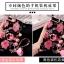 เคสมือถือ Vivo Y66 เคสซิลิโคนนิ่มลายดอกกุหลาบ (พรีออเดอร์) thumbnail 2