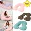 Glowy หมอนสำหรับคุณแม่ตั้งครรภ์ หมอนคนท้อง หมอนรองท้อง (ตัวยูU) Full Body Pillow thumbnail 1