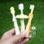 Pigeon แปรงสีฟันฝึกหัด 3 ขั้น Baby Training ToothBrush (6เดือนขึ้นไป) thumbnail 5