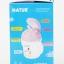 ถ้วยหัดดื่มพร้อมหลอดซิลิโคนลายหนู Natur Straw Training Cup [Designed in France] thumbnail 10