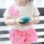 BabyCityเสื้อลูกไม้พร้อมกางเกงขาพองรุ่นโบว์สีชมพู thumbnail 7