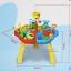 โต๊ะเล่นทราย 3 ช่องพร้อมอุปกรณ์ Sand Beach Set Toys thumbnail 5