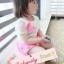 BabyCityเสื้อลูกไม้พร้อมกางเกงขาพองรุ่นโบว์สีชมพู thumbnail 8
