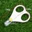 กรรไกรตัดเล็บเด็กแรกเกิด Baby safety scissors thumbnail 5
