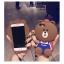 เคสมือถือ Vivo Y66 เคสซิลิโคนหมี3D (พรีออเดอร์) thumbnail 10