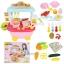 ชุดรถเข็นขายอาหาร Mini Cook Fast Food Car thumbnail 1