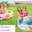 สระน้ำเป่าลมพร้อมห่วงยางและลูกบอล [Intex-59460/59469] thumbnail 2