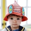 หมวกเด็กตาข่ายปีกบานหูกระต่าย