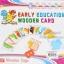แฟลชการ์ดไม้พร้อมตัวอักษร A-Z Early Education Wooden Card thumbnail 9